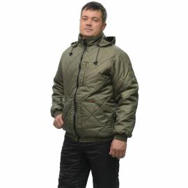 Куртка утепл Прага-Люкс с капюшоном