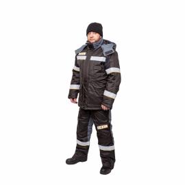 Костюм утепленный мужской К-910 Роснефть