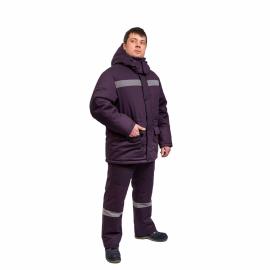 Костюм утепленный  Л3546 КЩС мужской 3 кл. пояс