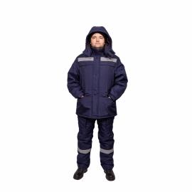 Костюм утепл. синий К-720 Север с п/к