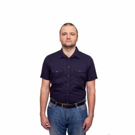Рубашка 384(II) короткий рукав
